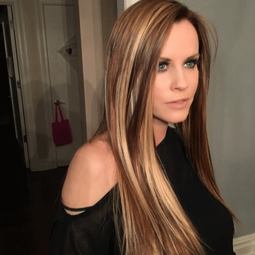 Jenny mccarthy amazing makeover using our invisi tab hair extensions pmusecretfo Choice Image
